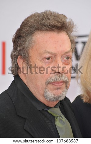 LOS ANGELES, CA - JUNE 10, 2010: Tim Curry at the 2010 AFI Life achievement Award Gala, honoring director Mike Nichols, at Sony Studios, Culver City, CA. - stock photo