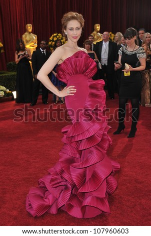 LOS ANGELES, CA - MARCH 7, 2010: Vera Farmiga at the 82nd Annual Academy Awards at the Kodak Theatre, Hollywood. - stock photo