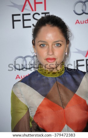LOS ANGELES, CA - NOVEMBER 12, 2014: Actress Matilde Gioli at the American Film Institute's special tribute gala honoring Sophia Loren at the Dolby Theatre. - stock photo