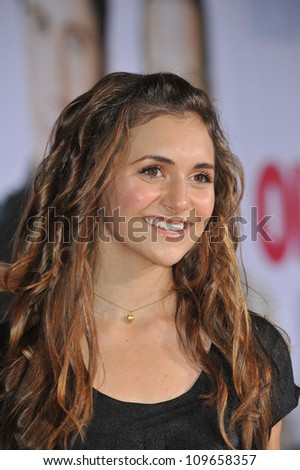 "LOS ANGELES, CA - NOVEMBER 9, 2009: Alyson Stoner at the world premiere of Walt Disney's ""Old Dogs"" at the El Capitan Theatre, Hollywood. - stock photo"