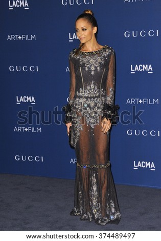 LOS ANGELES, CA - NOVEMBER 2, 2013: Nicole Richie at the 2013 LACMA Art+Film Gala at the Los Angeles County Museum of Art.Picture: Paul Smith / Featureflash - stock photo