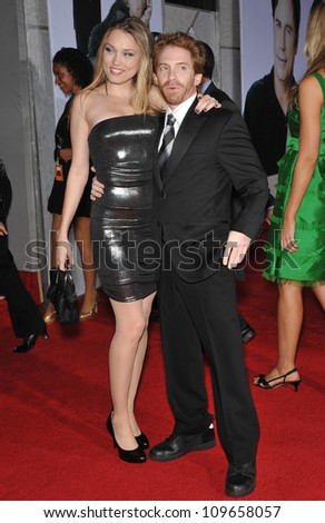 """LOS ANGELES, CA - NOVEMBER 9, 2009: Seth Green & Clare Grant at the world premiere of his new movie Walt Disney's """"Old Dogs"""" at the El Capitan Theatre, Hollywood. - stock photo"""
