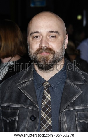 LOS ANGELES, CA - OCT 3: Craig Brewer at Paramount Pictures' premiere of 'Footloose' held at the Regency Village Theater on October 3, 2011 in Los Angeles, California - stock photo