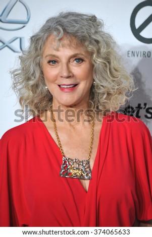 LOS ANGELES, CA - OCTOBER 24, 2015: Blythe Danner at the 25th Annual Environmental Media Awards at Warner Bros. Studios, Burbank, CA.   - stock photo