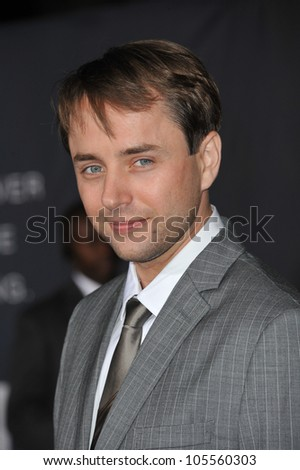 """LOS ANGELES, CA - OCTOBER 20, 2011: Vincent Kartheiser at the Los Angeles premiere of hs new movie """"In Time"""" at the Regency Village Theatre, Westwood. October 20, 2011  Los Angeles, CA - stock photo"""