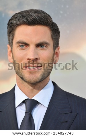 LOS ANGELES, CA - OCTOBER 26, 2014: Wes Bently at the Los Angeles premiere of his movie Interstellar at the TCL Chinese Theatre, Hollywood.  - stock photo
