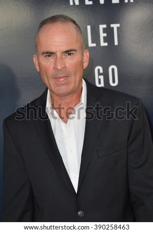 """LOS ANGELES, CA - SEPTEMBER 9, 2015: Mark Derwin at the American premiere of his movie """"Everest"""" at the TCL Chinese Theatre, Hollywood. - stock photo"""