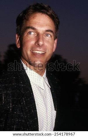 Los Angeles, California - exact date unknown - circa 1990 - Mark Harmon attending a celebrity event - stock photo