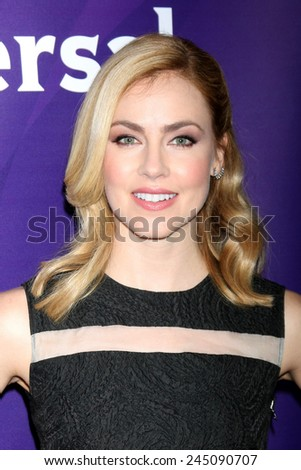 LOS ANGELES - DEC 15:  Amanda Schull at the NBCUniversal Cable TCA Press Tour at the Huntington Langham Hotel on December 15, 2014 in Pasadena, CA - stock photo
