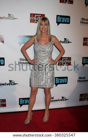 LOS ANGELES - DEC 3:  Eileen Davidson at The Real Housewives of Beverly Hills Premiere Red Carpet 2015 at the W Hotel Hollywood on December 3, 2015 in Los Angeles, CA - stock photo
