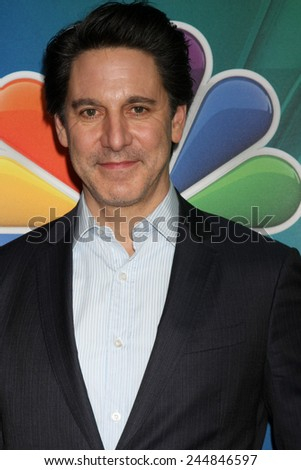 LOS ANGELES - DEC 16:  Scott Cohen at the NBCUniversal TCA Press Tour at the Huntington Langham Hotel on December 16, 2015 in Pasadena, CA - stock photo