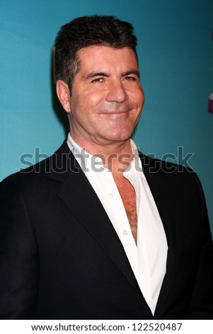 LOS ANGELES - DEC 20:  Simon Cowell at the 'X Factor' Season Finale at CBS Television City on December 20, 2012 in Los Angeles, CA - stock photo