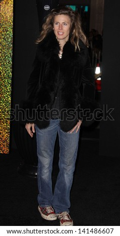 """LOS ANGELES - DEC 05:  SOPHIE B. HAWKINS arriving to """"New Year's Eve"""" World Premiere  on December 5, 2011 in Hollywood, CA - stock photo"""