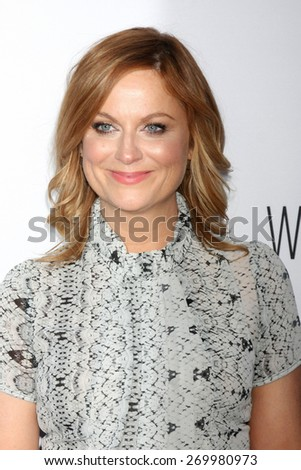 "LOS ANGELES - FEB 15:  Amy Poehler at the ""Adult Beginners"" Los Angeles Premiere at the ArcLight Hollywood Theaters on April 15, 2015 in Los Angeles, CA - stock photo"