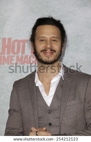 LOS ANGELES - FEB 18: Andrew Panay at the 'Hot Tub Time Machine 2' premiere on February 18, 2014 in Los Angeles, California - stock photo