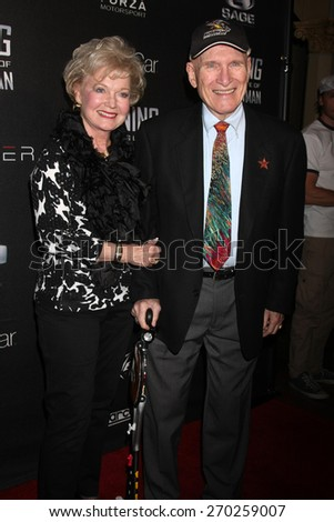 "LOS ANGELES - FEB 16:  Arthur Newman at the ""WINNING: The Racing Life of Paul Newman"" Pre-Premiere Reception at the Roosevelt Hotel on April 16, 2015 in Los Angeles, CA - stock photo"