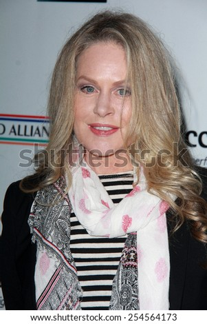 LOS ANGELES - FEB 19:  Beverly D'Angelo at the Oscar Wilde US-Ireland Pre-Academy Awards Event at a Bad Robot on February 19, 2015 in Santa Monica, CA - stock photo