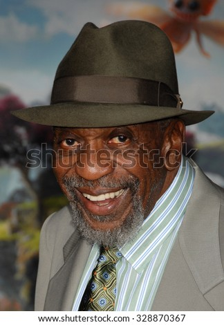 LOS ANGELES - FEB 13 - Bill Cobbs arrives at the Oz The Great and Powerful World Premiere on February 13, 2013 in Los Angeles, CA              - stock photo
