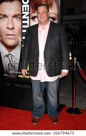 LOS ANGELES - FEB 4 - Billy Gardell arrives at the Identity Thief World Premiere on February 4, 2013 in Los Angeles, CA              - stock photo
