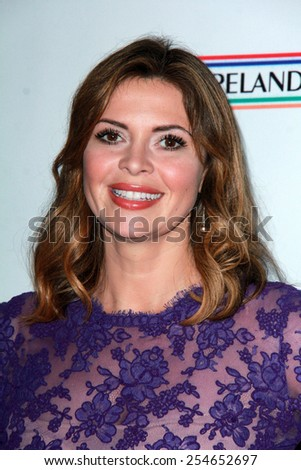 LOS ANGELES - FEB 19:  Carly Steel at the Oscar Wilde US-Ireland Pre-Academy Awards Event at a Bad Robot on February 19, 2015 in Santa Monica, CA - stock photo