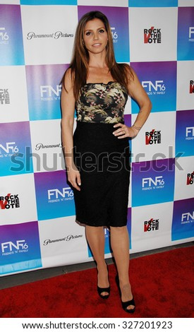 LOS ANGELES - FEB 8 - Charisma Carpenter arrives at the 16th Annual Friends N Family Pre Grammy Party on February 8, 2013 in Los Angeles, CA              - stock photo