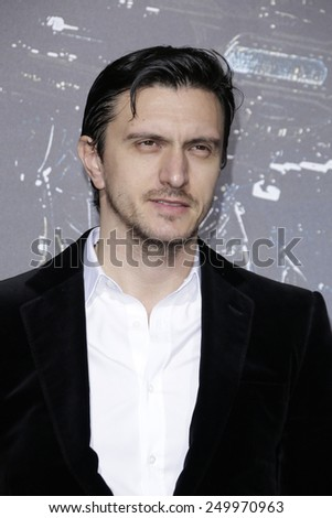LOS ANGELES - FEB 2: Dragos Savulesco at the 'Jupiter Ascending' Los Angeles Premiere at TCL Chinese Theater on February 2, 2015 in Hollywood, Los Angeles, California - stock photo