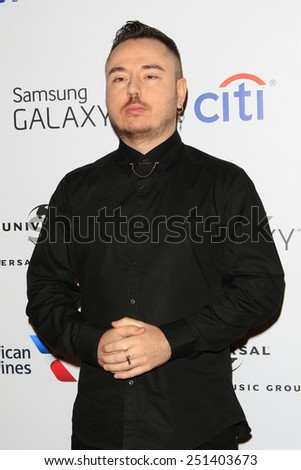 LOS ANGELES - FEB 8:  Duke Dumont at the Universal Music Group 2015 Grammy After Party at a The Theater at Ace Hotel on February 8, 2015 in Los Angeles, CA - stock photo