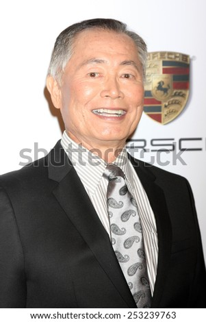 LOS ANGELES - FEB 2:  George Takei at the AARP 14th Annual Movies For Grownups Awards Gala at a Beverly Wilshire Hotel on February 2, 2015 in Beverly Hills, CA - stock photo