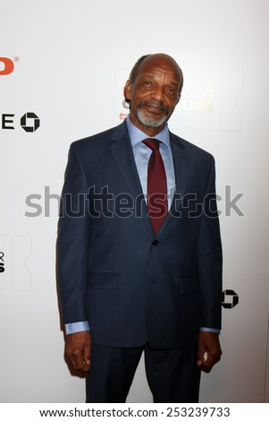 LOS ANGELES - FEB 2:  Henry G. Sanders at the AARP 14th Annual Movies For Grownups Awards Gala at a Beverly Wilshire Hotel on February 2, 2015 in Beverly Hills, CA - stock photo