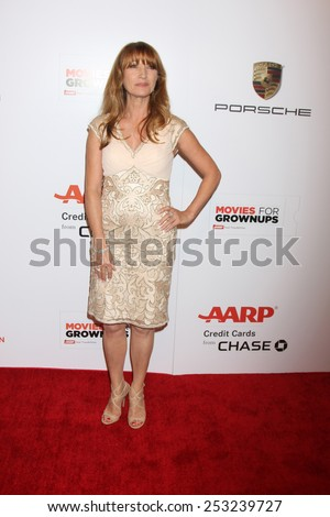 LOS ANGELES - FEB 2:  Jane Seymour at the AARP 14th Annual Movies For Grownups Awards Gala at a Beverly Wilshire Hotel on February 2, 2015 in Beverly Hills, CA - stock photo