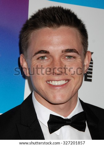 LOS ANGELES - FEB 8 - Jesse McCarthy arrives at the 16th Annual Friends N Family Pre Grammy Party on February 8, 2013 in Los Angeles, CA              - stock photo