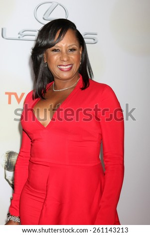 LOS ANGELES - FEB 6:  Jo-An Turman at the 46th NAACP Image Awards Arrivals at a Pasadena Convention Center on February 6, 2015 in Pasadena, CA - stock photo