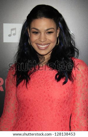 LOS ANGELES - FEB 9:  Jordin Sparks arrives at the ROC NATION Annual Pre-Grammy Brunch at the Soho House on February 9, 2013 in West Hollywood, CA - stock photo