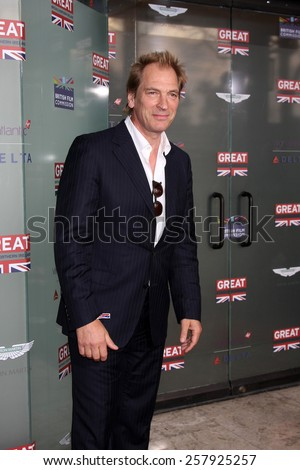 LOS ANGELES - FEB 20:  Julian Sands at the GREAT British Film Reception Honoring The British Nominees Of The 87th Annual Academy Awards at a London Hotel on February 20, 2015 in West Hollywood, CA - stock photo