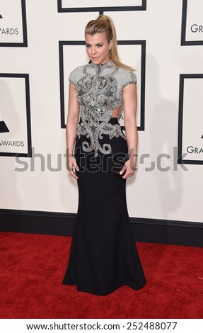 LOS ANGELES - FEB 08:  Kimberly Perry arrives to the Grammy Awards 2015  on February 8, 2015 in Los Angeles, CA                 - stock photo