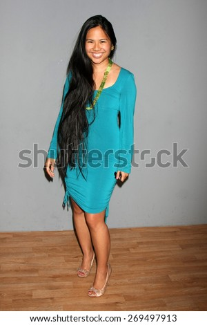 LOS ANGELES - FEB 11:  Krista Suh at the Hollywood Red Carpet School at the Shari Shaw Studio on April 11, 2015 in Studio City, CA - stock photo
