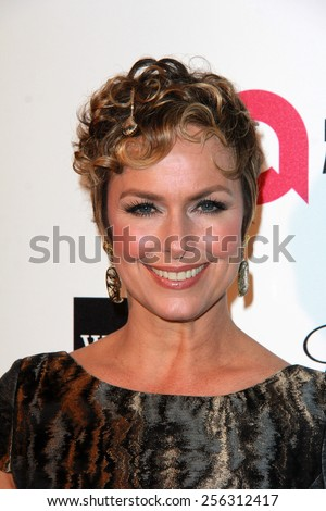 LOS ANGELES - FEB 22:  Melora Hardin at the Elton John Oscar Party 2015 at the City Of West Hollywood Park on February 22, 2015 in West Hollywood, CA - stock photo