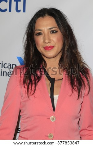 LOS ANGELES - FEB 15:  Michelle Branch at the Universal Music Group's 2016 Grammy After Party at the Ace Hotel on February 15, 2016 in Los Angeles, CA - stock photo