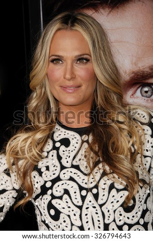 LOS ANGELES - FEB 4 - Molly Sims arrives at the Identity Thief World Premiere on February 4, 2013 in Los Angeles, CA              - stock photo