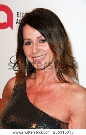 LOS ANGELES - FEB 22:  Nadia Comenici at the Elton John Oscar Party 2015 at the City Of West Hollywood Park on February 22, 2015 in West Hollywood, CA - stock photo