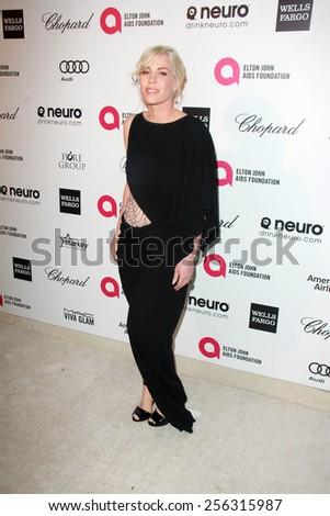LOS ANGELES - FEB 22:  Natasha Bedingfield at the Elton John Oscar Party 2015 at the City Of West Hollywood Park on February 22, 2015 in West Hollywood, CA - stock photo