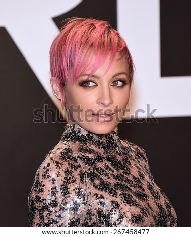 LOS ANGELES - FEB 20:  Nicole Richie arrives to the Tom Ford Autumn/Winter 2015 Womenswear Collection Presentation  on February 20, 2015 in Hollywood, CA                 - stock photo