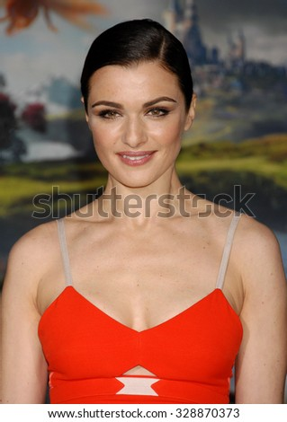LOS ANGELES - FEB 13 - Rachel Weisz arrives at the Oz The Great and Powerful World Premiere on February 13, 2013 in Los Angeles, CA              - stock photo