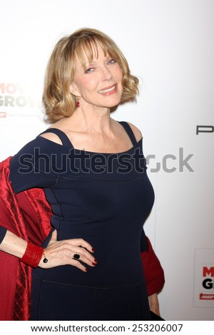 LOS ANGELES - FEB 2:  Susan Blakely at the AARP 14th Annual Movies For Grownups Awards Gala at a Beverly Wilshire Hotel on February 2, 2015 in Beverly Hills, CA - stock photo