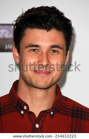 LOS ANGELES - FEB 19:  Tom Hobbs at the Oscar Wilde US-Ireland Pre-Academy Awards Event at a Bad Robot on February 19, 2015 in Santa Monica, CA - stock photo