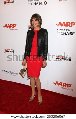 LOS ANGELES - FEB 2:  Wendie Malick at the AARP 14th Annual Movies For Grownups Awards Gala at a Beverly Wilshire Hotel on February 2, 2015 in Beverly Hills, CA - stock photo