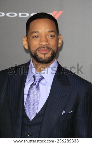 "LOS ANGELES - FEB 24:  Will Smith at the ""Focus"" Premiere at  TCL Chinese Theater on February 24, 2015 in Los Angeles, CA - stock photo"