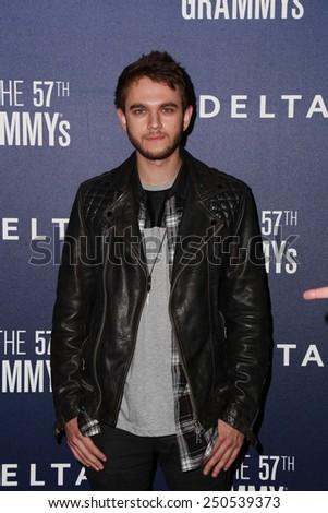 LOS ANGELES - FEB 5:  Zedd at the Delta Air Lines Toasts 2015 GRAMMYs at a SOHO House on February 5, 2015 in West Hollywood, CA - stock photo