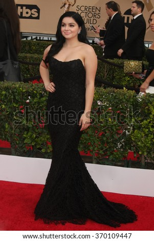 LOS ANGELES - JAN 30:  Ariel Winter at the 22nd Screen Actors Guild Awards at the Shrine Auditorium on January 30, 2016 in Los Angeles, CA - stock photo