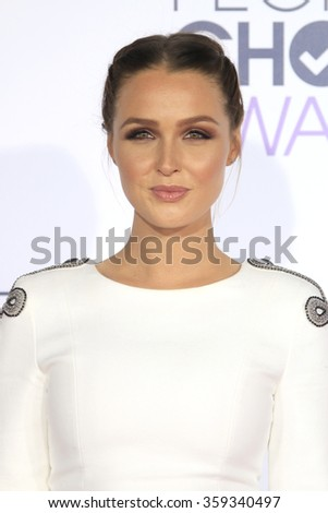 LOS ANGELES - JAN 6:  Camilla Luddington at the Peoples Choice Awards 2016 - Arrivals at the Microsoft Theatre L.A. Live on January 6, 2016 in Los Angeles, CA - stock photo